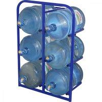 Стеллажи специализированные для хранения бутылей с водой объемом 19 литров фото 3