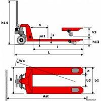 Тележка гидравлическая MAX VM 20/115 SP весы / принтер фото 2