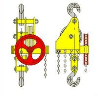 Таль ручная червячная стационарная ТРЧ 5,0 т 9 м