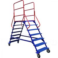 Лестницы передвижные, шесть ступеней и два лестничных марша ЛР-6.2