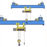 Кран мостовой однобалочный подвесной однопролётный г/п 2 т пролет 9,0 м