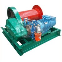 Лебедка электрическая TOR ЛМ (тип JM) г/п 0,5 тн Н=100 м (c канатом)