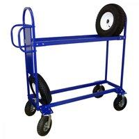 Тележка для перевозки автомобильных колес (шин) ТДШ-1
