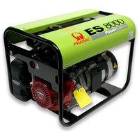 Портативный генератор 5.5 кВт ES8000, 230V, 50Hz