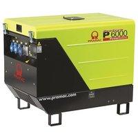 Портативный генератор 4.3 кВт P6000, 230V, 50Hz #AVR #CONN #DPP