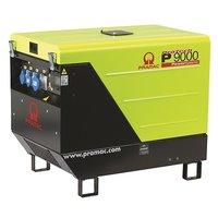 Портативный генератор 7.3 кВт P9000, 400/230V, 50Hz #AVR #IPP