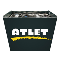 Тяговая батарея на Atlet CSL 125 2 PzS 250