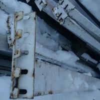 Паллетные стеллажи б/у ПОЛИМЕТАЛЛ высота рамы 4 метра (лот 0318/5-ПА) фото 4