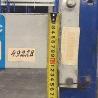 Болтовые стеллажи б/у высота 8м (лот 0119/74 ПАБ) фото 3
