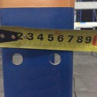Болтовые стеллажи б/у высота 8м (лот 0119/74 ПАБ) фото 8