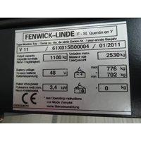 Высотный комиссионер Linde V 11 - 015 ** NEW battery !!, год 2011 - 6C209F39 фото 4