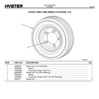 Диск для электропогрузчика HYSTER 18x7x8 фото 2