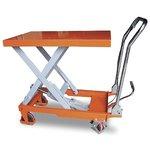 Гидравлический подъемный стол OL F-100 1000 кг 1000 мм 1016/510/60 мм передвижной
