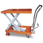 Гидравлический подъемный стол OL F-150 1500 кг 1000 мм 1016/510/60 мм передвижной