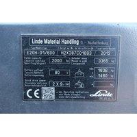 Электропогрузчик Linde E20H-01/600, год 2012 - 2BC678D5 фото 4