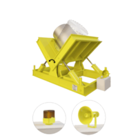 Кантователь для рулонов с гидроприводом фото 3