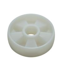 Колесо рулевое П/А для рохли (180*50 мм) фото 2