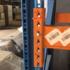 Стеллажи складские б/у NEDCON высота рамы 9,5 м (лот 098-58 ПА)