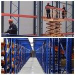 Монтаж паллетных стеллажей First Logistik