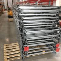 Паллетные стеллажи б/у новый ФЗМ 6500 мм (лот 078-49 ПА)