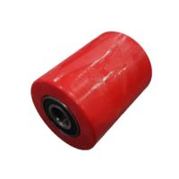 Ролик П/У подвилочный для рохли (80*100 мм)