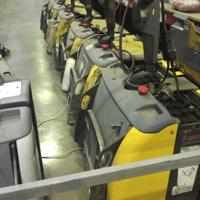 Электрическая рохля ATLET 2000 кг б/у (лот 078-32 СТ) фото 2