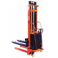 Штабелер гидравлический с электроподъемом TOR 10/35, 1 т 3,5 м (CTD)