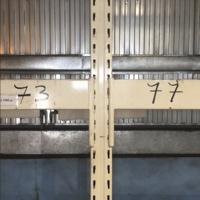 Паллетные стеллажи б/у ПОЛИМЕТАЛЛ М высота рамы 3,2 метра (лот 0618/28-ПА)
