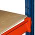 Среднегрузовые стеллажи бу ОПТИМА высота 2,5 м (лот 0618/27-СГ) фото 7