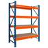 Среднегрузовые стеллажи бу ГТС 3 -3,5 метра (лот 0618/17-СГ)