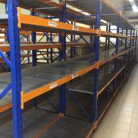 Среднегрузовые стеллажи бу КИФАТО высота 2,5 м (лот 0618/30-СГ)