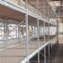 Среднегрузовые стеллажи бу с металлическим и ДСП настилом высота 3,5 м (лот 078/39-СГ) фото 3
