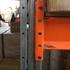 Паллетные металлические стеллажи бу рама 4,5 м (лот 0418/15-ПА) фото 3