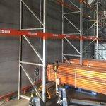 Балки 2700 мм б/у для болтовых стеллажей (лот 1218/71 ПАБ)