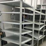 Полочные стеллажи б/у  2000х800х700 мм (лот 1218-72 ПО)