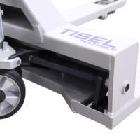 Тележка гидравлическая TISEL T-25 B450 ширина вил 450 мм фото 2