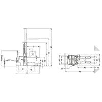 Штабелер самоходный CDDR 10/33-E фото 4